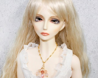 BJD Jewelery-Gold Necklace for 1/3 doll