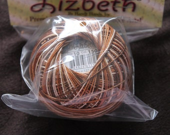Lizbeth Thread size 10 Rootbeer Float #150