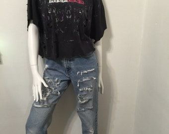 Tommy's Painted Crop Tee