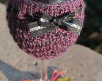 Knitting Pattern--I Need This Wine Cozy
