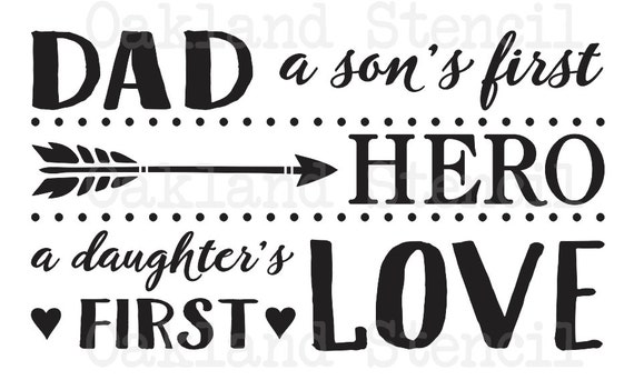 1218+ A Sons First Hero A Daughters First Love Ny Svg Best Quality File