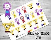 Mom Award Stickers- Perfect for Planners
