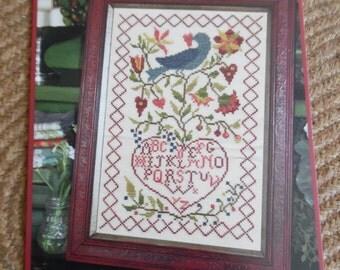 Bluebirds Message Sampler by Blackbird Designs