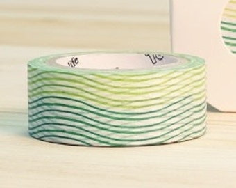 Wave washi tape