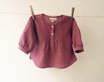 Organic Cotton Girl's Blouse