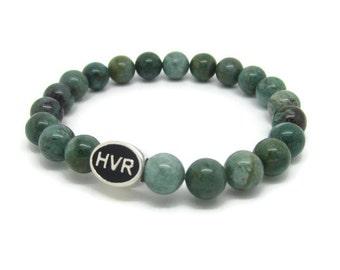Hanover Bracelet, HVR, Hanover Jewelry, Hanover Gift, Green Quartz