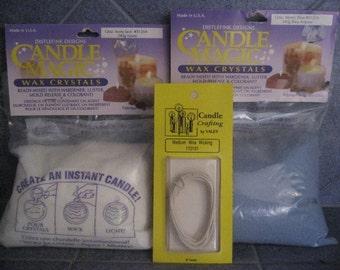 Candle Magic wax crystals