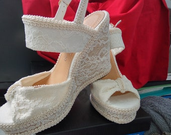 Bridal Sandals size 35 to 40