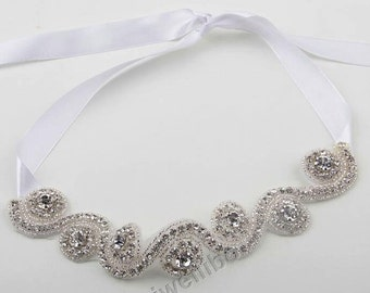 1 pcs Rhinestone Headband, Wedding Headband, Bridal Headband, Baby Headband