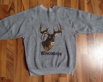 Vintage Deer Crewneck