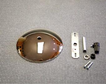 NEW! Item / Single Hole Chrome Ceiling Canopy Kit / Pendant Lighting