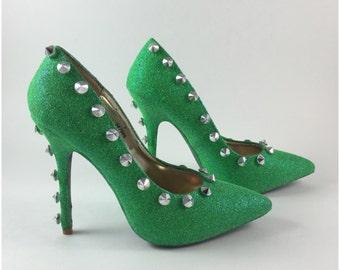 Dripping High Heeled Shoe Art