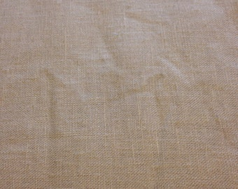 Tan Linen Bottom-weight Fabric-By-The-Yard