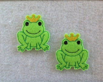 Frog Prince Feltie, Always Precut