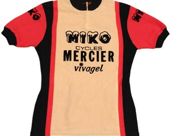 70's MIKO MERCIER vintage cycle jersey made in France
