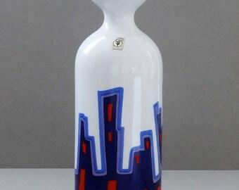 Arzberg Mid Century Glossy Porcelain Pop Art Vase I
