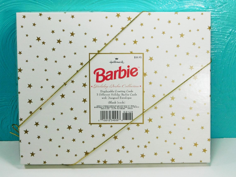 Vintage 1995 holiday barbie greeting cards blank barbie cards 3 vintage 1995 holiday barbie greeting cards blank barbie cards 3 hallmark cards with envelopes kristyandbryce Images