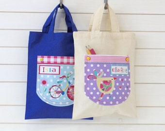 girls mini shopper bags
