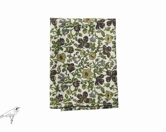 Pocket square  Liberty Meadow Olive pattern