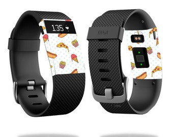 Skin Decal Wrap for Fitbit Blaze, Charge, Charge HR, Surge Watch cover sticker Food Junkie