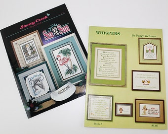 Sea and Sun and Saying Samplers Cross Stitch Designs, PAT167
