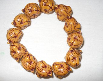 Vintage Chinese tiger bracelet