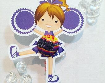 Cheerleader  lollipop holders