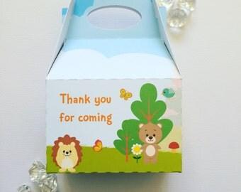 Woodland treat boxes