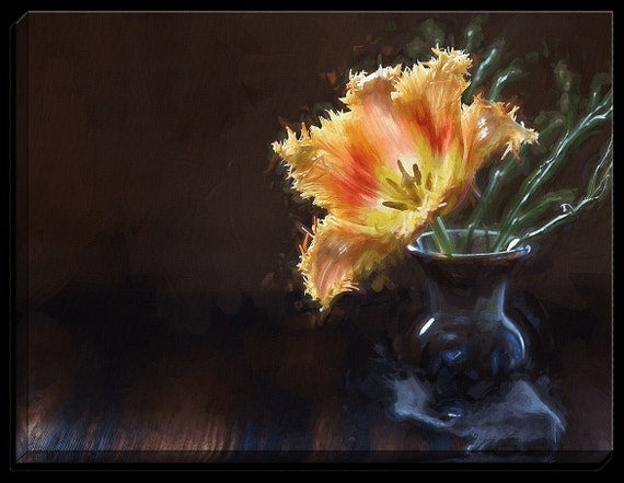 Flower Painting by Petra