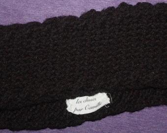 Knit Handmade Cabled Headband