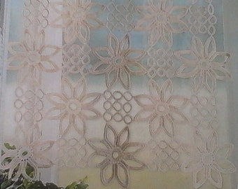 custom hand made crochet curtain 4