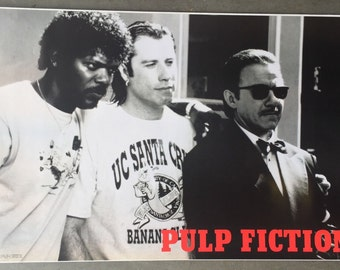 Wall Art Poster Pulp Fiction Imported From England 24 X 36