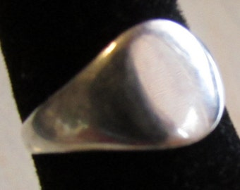 Sterling Silver Ring Size 4