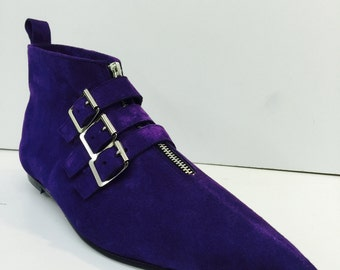 Original Pikes-3 Buckle Boots