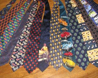 Silk Skirt - Silk Necktie Skirt - Made to order