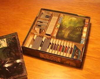Arkham Horror 3mm Birch ply Laser cut Game Box Organiser - quick and easy set up for a great game!