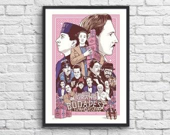 Art-Poster 50 x 70 cm - The Grand Budapest Hotel