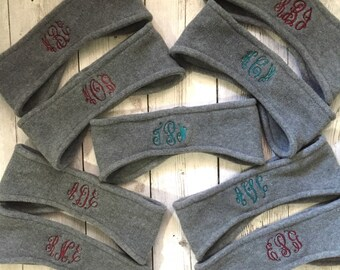 Monogram Head Warmer