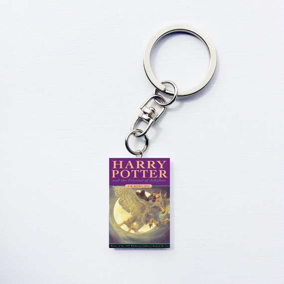 Harry Potter Book Keychain ~ Harry potter mini book keychain