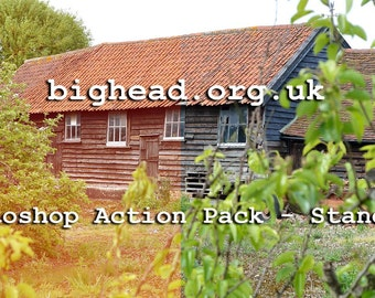 bighead.org.uk Photoshop Action Pack - Standard