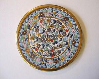 Unique Colorful Plate
