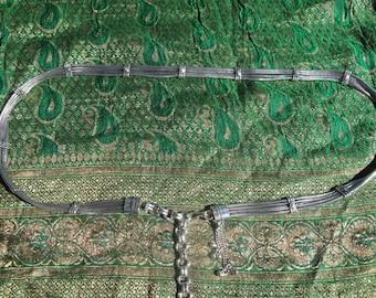 Belt Snake Chain 4 strands, Belly Chain, Belly Dance Belt, Tribal Belt, Banjara Belt, Tribal Fusion belt, Fire Danse, Boho belt