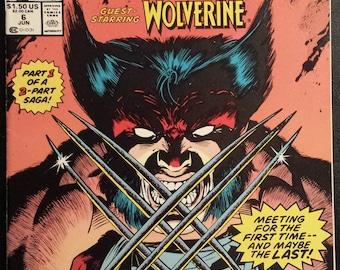 The Punisher War Journal #6 & #7 Story Set (1989) Comic Book