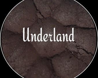 Underland~loose mineral satin eyeshadow, Lip safe,Vegan