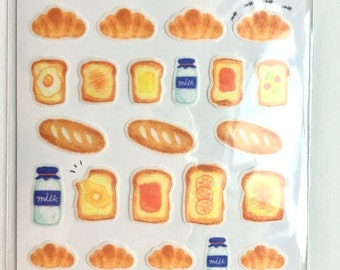 Bread washi tape Japanese Stickers