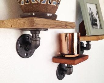 Industrial Rustic Shelf Set of Three, Industrial Shelves, Rustic Shelves