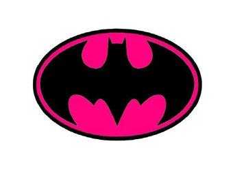 Bat Girl Logo Iron on Transfer personalized custom iron on T-shirt iron on transfer