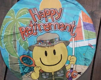 "18"" Happy Retirement Mylar Foil Balloon"