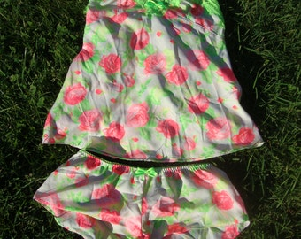 Vintage Betsey Johnson Cami and Tap Pants Small