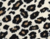 Double Critter Nation/Ferret Nation Fleece Pan Liner Set with Burrow Pocket - Cheetah